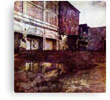 Urban Reflection Canvas Print