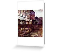 Urban Reflection Greeting Card