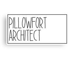 Pillowfort Architect Canvas Print