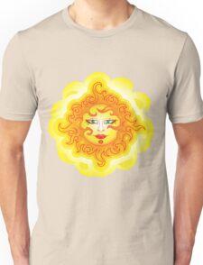 Abstract Sun Unisex T-Shirt
