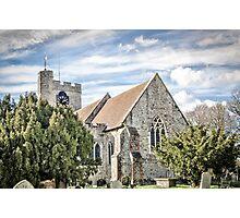 Bethersden Church Photographic Print