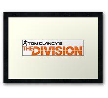 The Division Framed Print