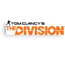 The Division Canvas Print