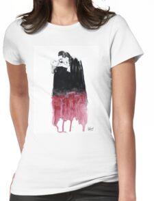 CRIMSON KISS Womens Fitted T-Shirt