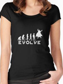 Evolution of X-Man - Magneto Women's Fitted Scoop T-Shirt