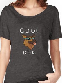 Cool Dog Colored Women's Relaxed Fit T-Shirt