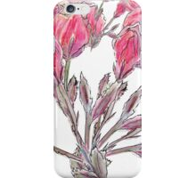 Peony Buds Design (Hand-drawn & Painted) iPhone Case/Skin