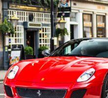 Ferrari 599 GTO Sticker