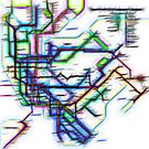 NYC Subway Map by mrthink