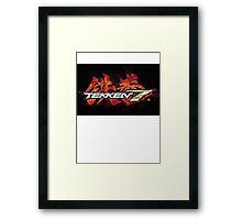 TEKKEN 7 STREET FIGHTER Framed Print