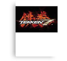 TEKKEN 7 STREET FIGHTER Canvas Print