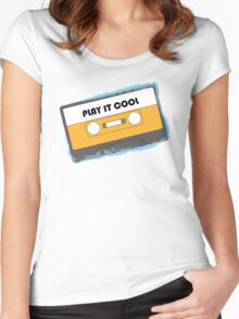 Play It Cool Women's Fitted Scoop T-Shirt