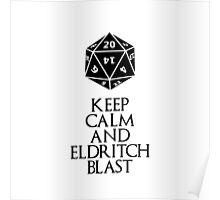 Warlock's shirt Poster