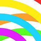 Rainbow stripes by Edward Fielding