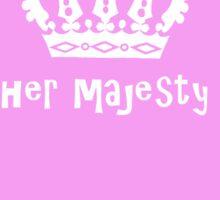Her Majesty Sticker