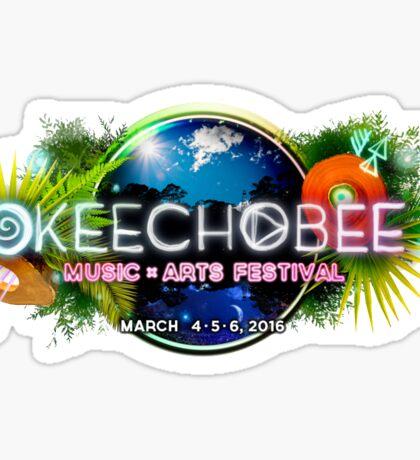 Okeechobee Music and Arts Festival Sticker