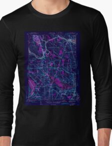 New York NY Brewerton 122997 1943 31680 Inverted Long Sleeve T-Shirt