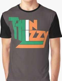 THIN LIZZY IRISH FLAG Graphic T-Shirt