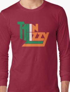 THIN LIZZY IRISH FLAG Long Sleeve T-Shirt