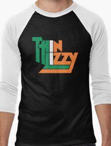 THIN LIZZY IRISH FLAG Men's Baseball ¾ T-Shirt