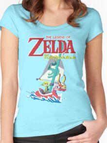 Pixel Windwaker Women's Fitted Scoop T-Shirt