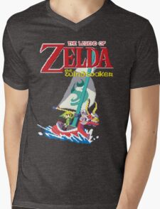 Pixel Windwaker Mens V-Neck T-Shirt
