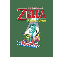 Pixel Windwaker Photographic Print