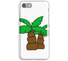 2 comic cartoon funny small palm sweet cute iPhone Case/Skin