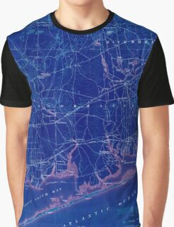 New York NY Moriches 144095 1904 62500 Inverted Graphic T-Shirt