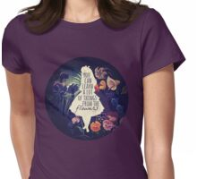 Golden Afternoon Womens Fitted T-Shirt