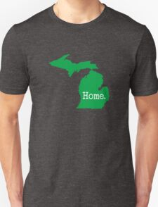 Michigan Home MI Pride Detroit Green Unisex T-Shirt