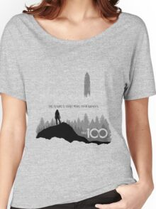 The 100 - The Future Is About More Than Survival Women's Relaxed Fit T-Shirt