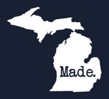 Michigan Home MI Pride Detroit Made One Piece - Long Sleeve