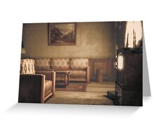 Silent Hill 2 Room 312 Greeting Card