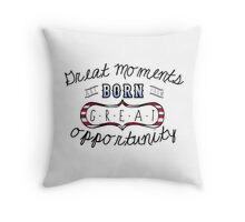 Do You Believe in Miracles?  Throw Pillow