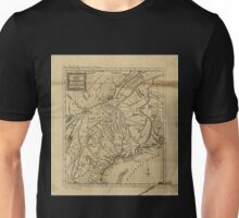 American Revolutionary War Era Maps 1750-1786 297 An Accurate map of New Hampshire in New England from a late survey Unisex T-Shirt
