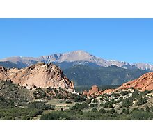 Garden Of The Gods 1 Photographic Print