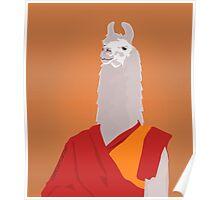 Buddhist lama Poster