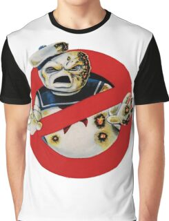 Bustin' Ghosts : The Marshmallow Graphic T-Shirt