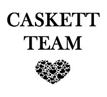 Caskett Team Photographic Print