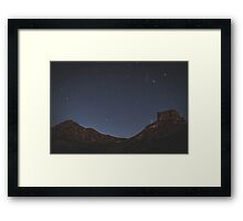The Stars at Night, Big Bend, Texas, United States Framed Print