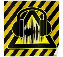 Caution Music Poster