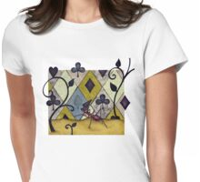 Leaf Cutter Harvesting Spades Womens Fitted T-Shirt