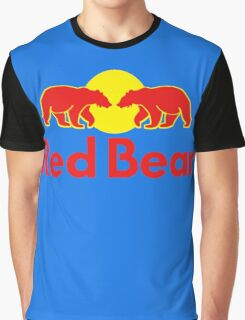 Red Bear Graphic T-Shirt