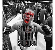 Straight Outta stockton bloody Photographic Print
