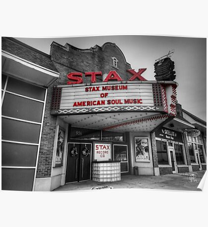 Memphis - Stax Records 001 CK Poster