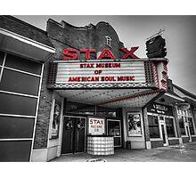 Memphis - Stax Records 001 CK Photographic Print