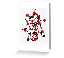 Abugila V6 - digital abstract Greeting Card