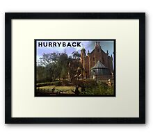 Hurry Back to the Haunted Mansion Framed Print