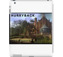 Hurry Back to the Haunted Mansion iPad Case/Skin
